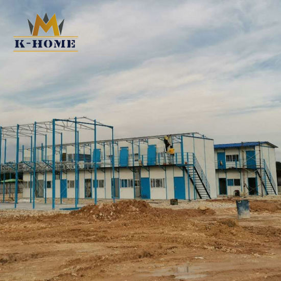 Low Cost Prefab Labour Colony Pre-Engineered Building House for Construction Sites