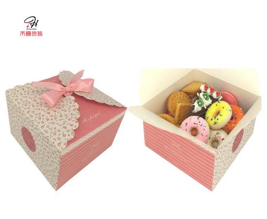 Elegant Decorative Gift Box For Wedding Christmas Brithday Cake