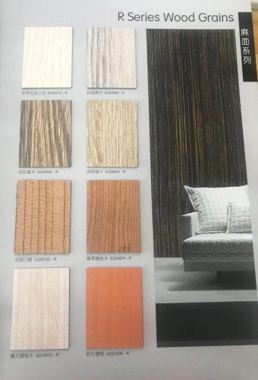 Wood Grain HPL Used For Furniture Skin / Cabinet Surface / Door Skin