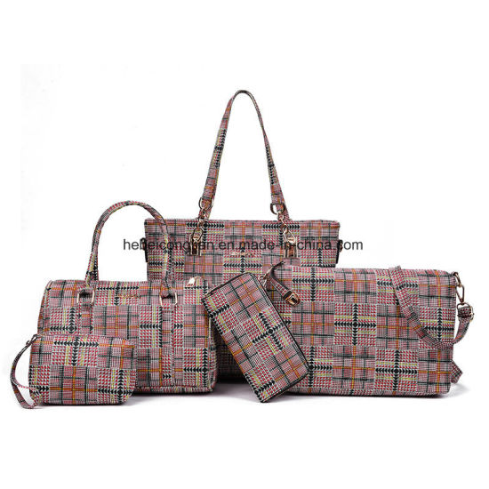 China New Model Purses Woman Tote Handbags Whole Las
