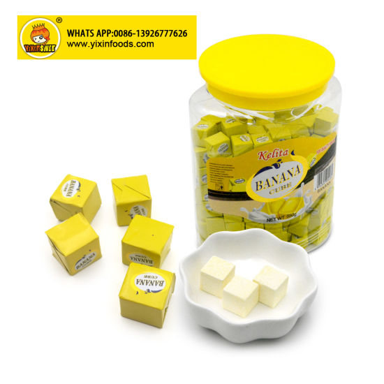 Fruit Flavor Jar Cube Candy