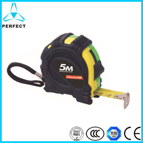 High Quality 3m 5m Rubber Steel Measuring Tape pictures & photos