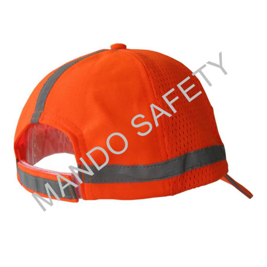 100% Polyester Safety Cap with Reflective Piping pictures & photos