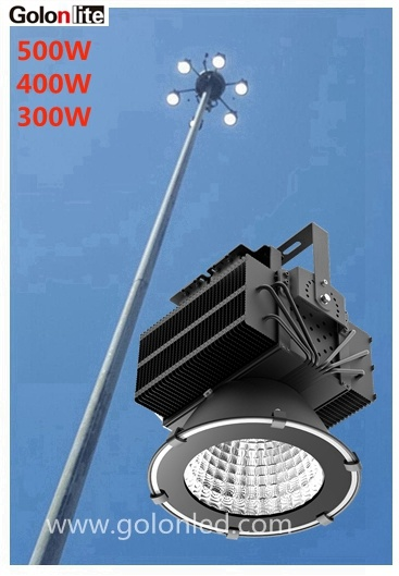 100-277V 230V 347V 480V 5 Years Warranty 4000k 5000k 5700k 6500k Outdoor 500 Watt LED Lights pictures & photos