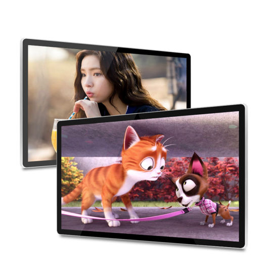 High Quality 43 Inch Flat Screen Wall Mounted LCD Digital Signage Touch Screen Indoor Internet Totem