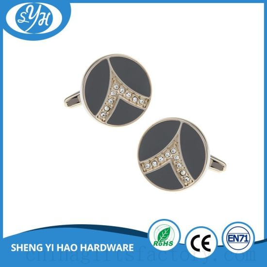 Wholesale Fashion Design Metal Cufflink pictures & photos