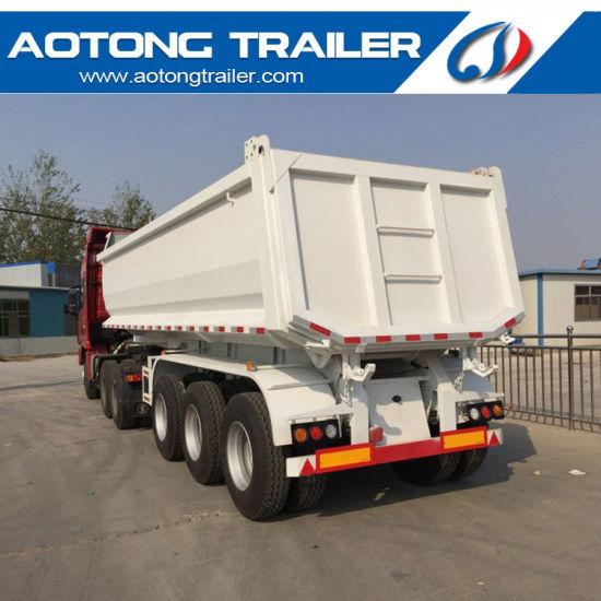 24-30 Cbm Rear Dumper Truck, Dump Semi Trailer for Sale