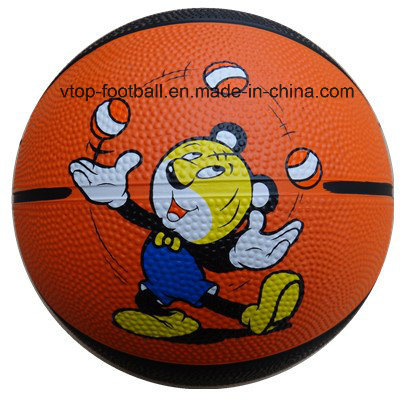 Rubber Basketball Kids' Toys for Promotion