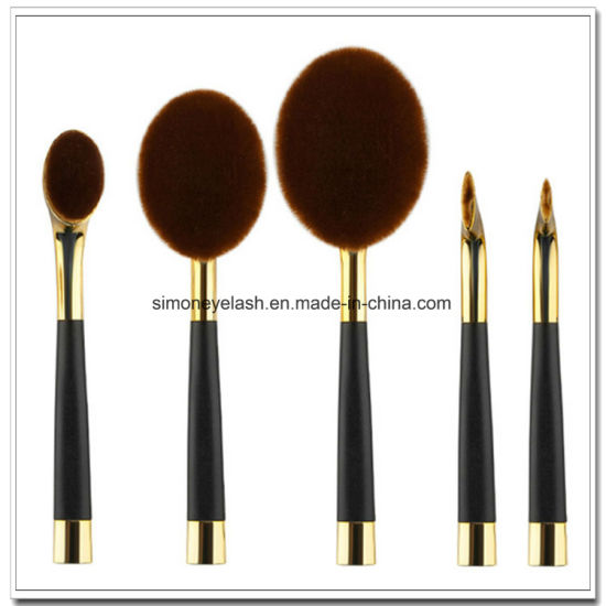 Beauty Equipment Golf Shape Makeup Brush for Make up Artist pictures & photos