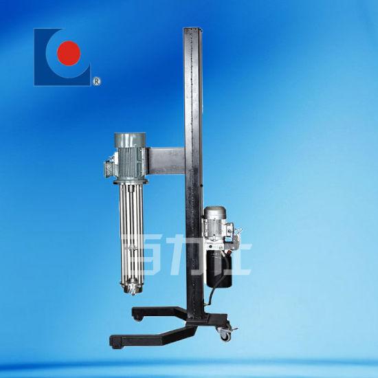 High Shear Mixer with Hydraulic Lifting