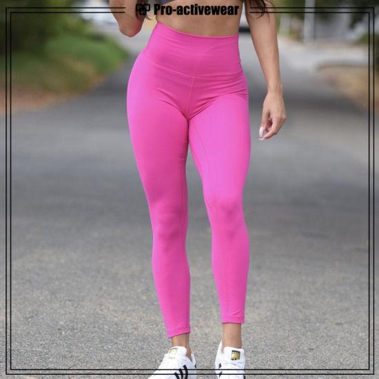 3a82fdbfbaf [Hot Item] Recently Added Breathable Custom Pink Sports Gym Leggings