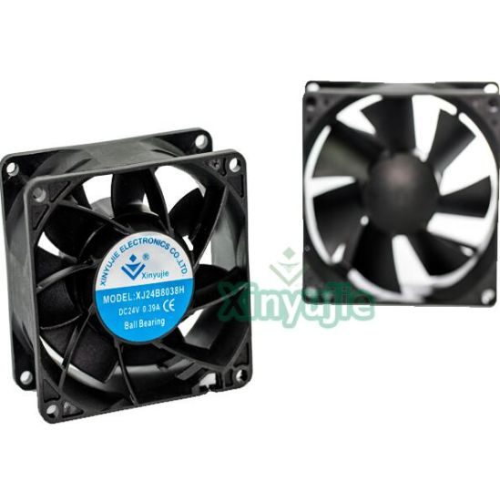 High Speed 12V 24V 8038 80mm 80X80X38mm DC Cooling Fan pictures & photos