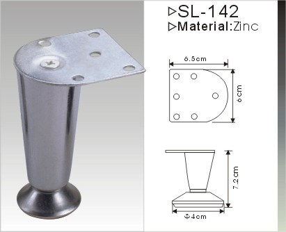 Hot Sale Iron Furniture Leg Sofa Leg (SL-142)