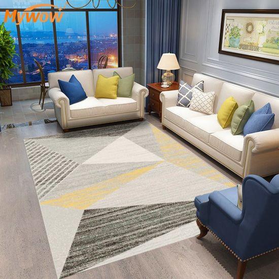 MyWow Anti Slip Logo Printed Carpet 100% Polyester Rug
