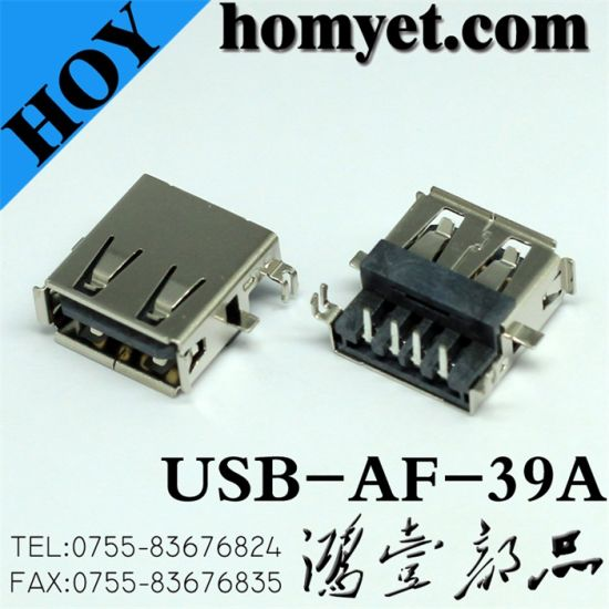 USB Jack for Electric Accessories (USB-AF-39A) pictures & photos