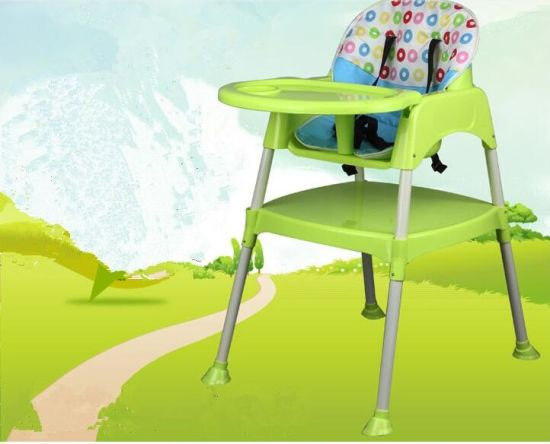 En71 Certificated Plastic Chair High Baby Chair Dining Chair/Highchair