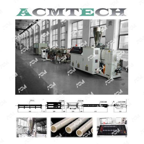 Hot Sale PVC/UPVC/CPVC/PE/HDPE/PP-R/LDPE Water Hose/Electric Conduit Cable Pipe/Window Profile/Wall Panel Extruder/Extrusion/Extruding Extrusion Machine