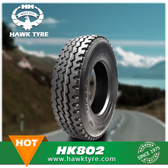 Superhawk Bias Tire, Heavy Duty Truck Tire (7.00-16, 7.50-16, 8.25-16, 10.00-20, 315/80r22.5) pictures & photos