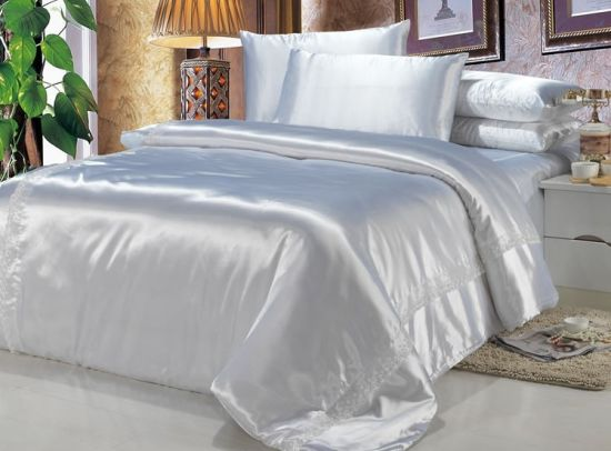 2017 New Style Mulberry Silk Bed Sheet For Home Usage