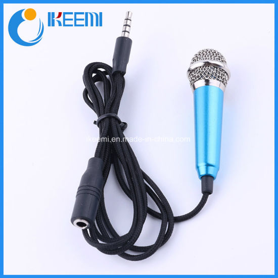 Mini Karaoke Microphone for Mobile Phone Compatible for PC Laptop
