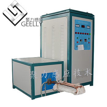 IGBT Induction Heating Machine Heating Forging Standard Parts Fastener and Bar Forging Machine pictures & photos