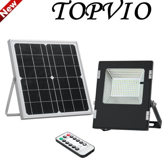 6W/10W/18W Solar Power LED Flood Light with Light Sensor