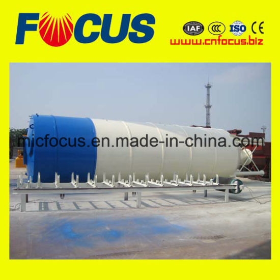 Large Capacity Q235 Steel 100t Bolted Cement Silo for Concrete Batching Plant pictures & photos