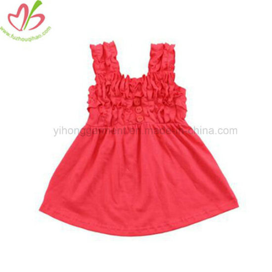 73659faa9a2 China New Design Baby Girl Vest Red Party Dress - China Kids Clothes ...