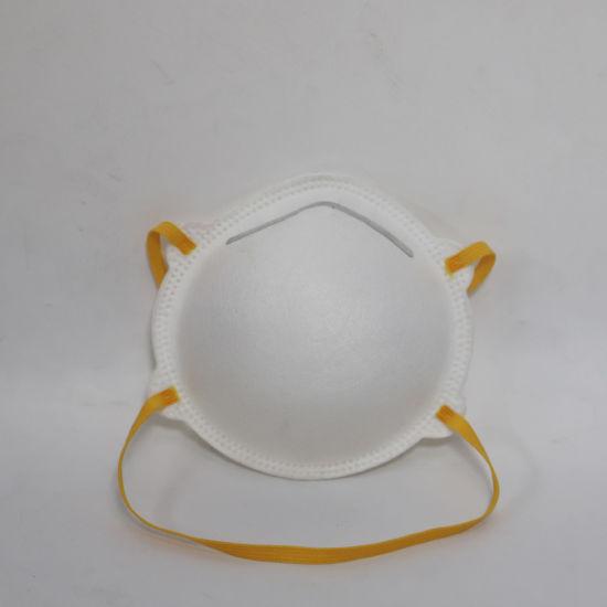 China Manufacture Disposable Flat -Fold Dustproof Virus Respirator Cup KN95 Mask