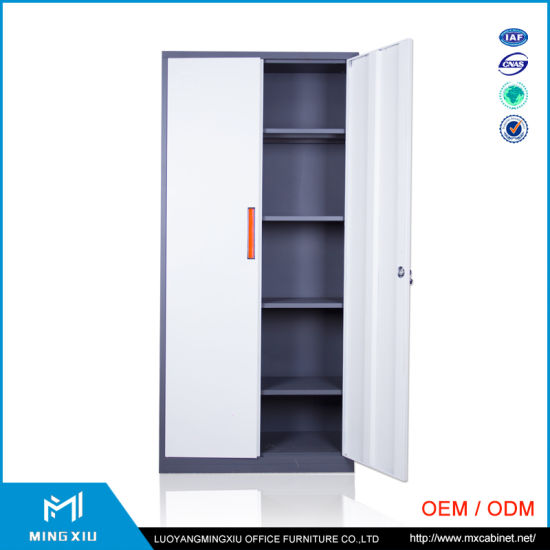 China Luoyang Mingxiu Low Price 2 Door Metal Locker Style Storage