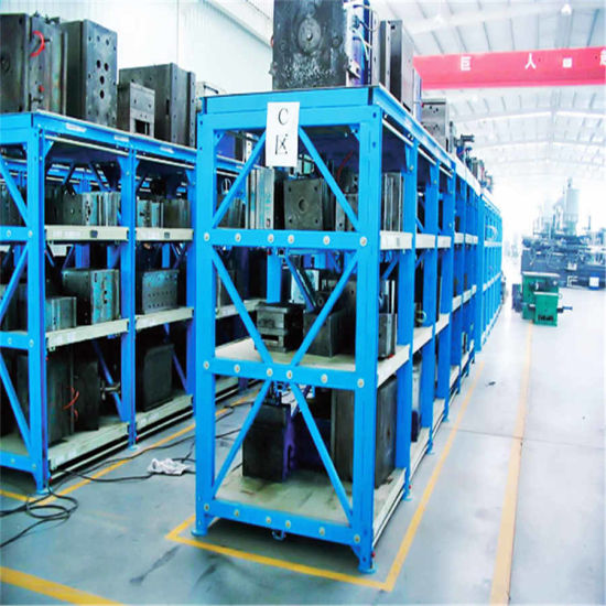 Automated Warehouse Heavy Duty Mould Die Storage Drawer Rack Shelf