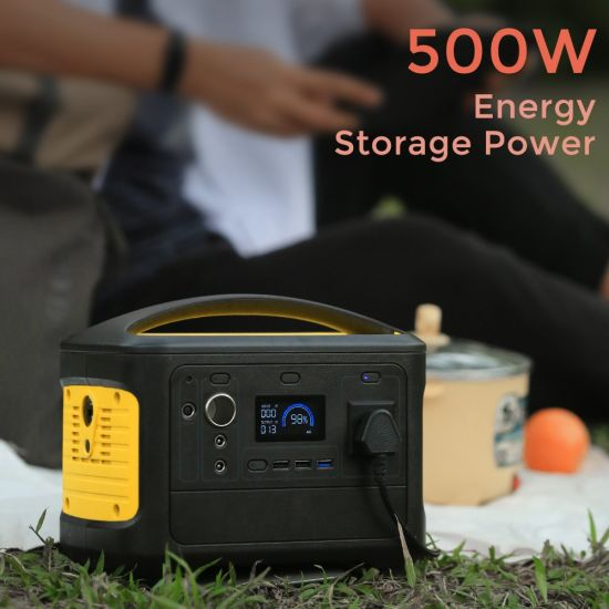 High Performance 14.8V 38.4ah Online Backup Portable Power Station Solar Generator Power Source Power Supply OEM/ODM