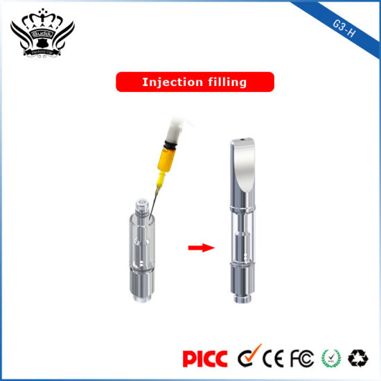 Buddytech G3-H Dual Coil 0.5ml Electronic Cigarette/Mini Electronic Cigarette EGO pictures & photos