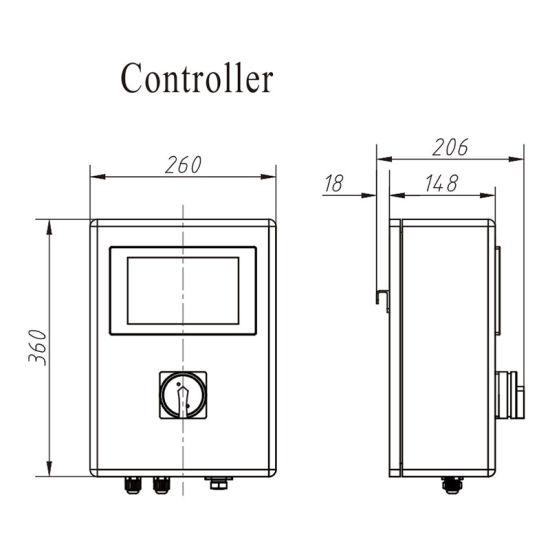 Electronic Metal Detector for Checking Milk Powder Granules Jw-Gx80