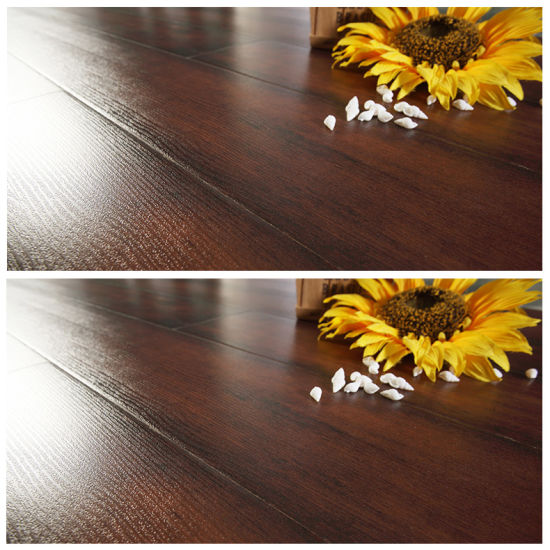 China 12mm French Bleed Style Waterproof Embossment Laminate