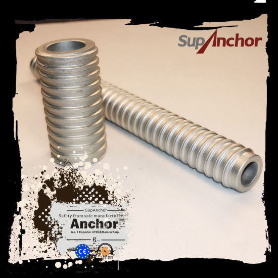China Supanchor R32 Anchor Bolt Extension Coupler For R32 Anchor System China R32 Self Drilling Anchor System