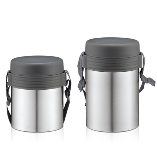 China Factory Japanese-Style Double Wall Stainless Steel Food Lunch Box pictures & photos