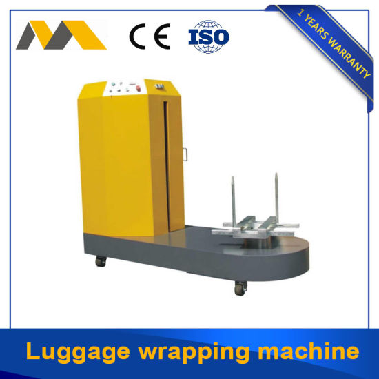 Shandong Factory Luggage Baggage Airport Stretch Film Packing Machine