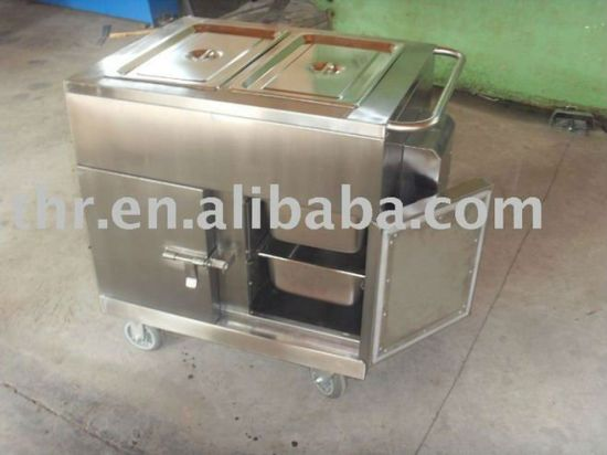 Thr-FC005 Hospital Stainless Steel Dinner Trolley pictures & photos