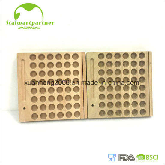 China Food Safe Wooden Cutting Board Strong Wooden Chopping