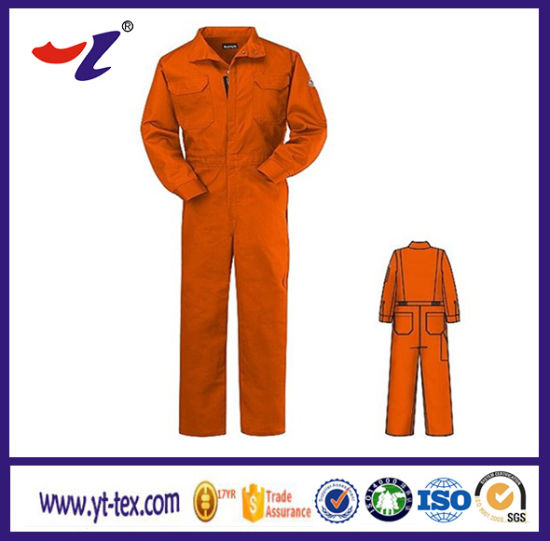 100%Cotton Workwear/Engineering Working Uniform/ Different Colour Collar Uniform