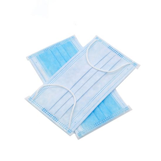 En14683 /ASTM Level 3 3 Ply Nonwoven Disposable and Surgical Face Mask Disposable Face Mask