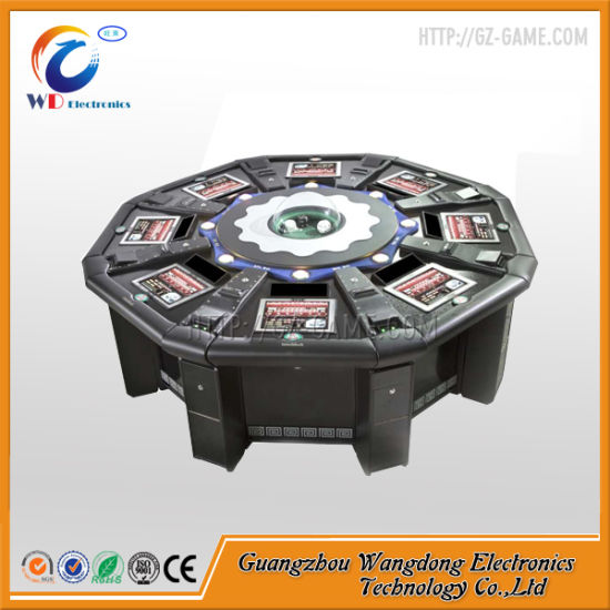 Electronic Gambling Roulette Machine by Casino Owner Control The Wind pictures & photos