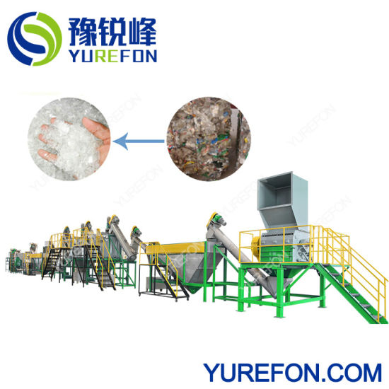 304 Stainless Steel Plastic Washing Recycling Machine 500kg/H for Used Pet Bottles pictures & photos