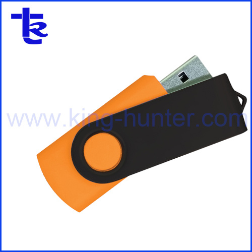 Promotional Gift Swivel USB Flash Drive with Free Logo Printing Service