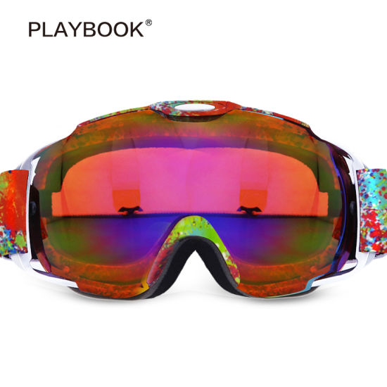 627803ec79c3 China Custom Ski Snow Goggles Fashionable Ski Goggles Anti-Fog Anti ...