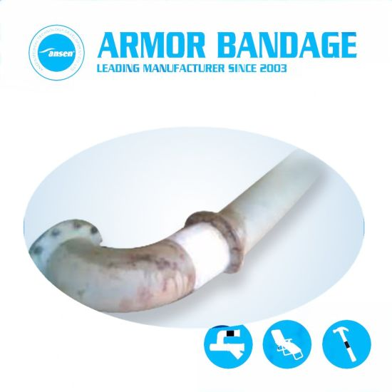 China Pipe Leak Repair Patch Kit High Strength Pipe Repair Bandage ...