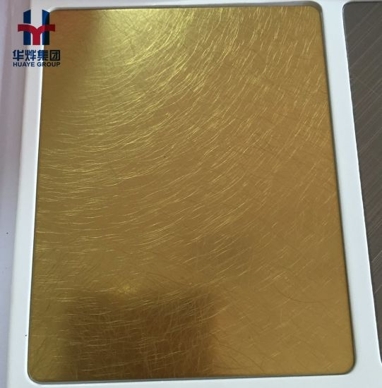 China Antique Style Brass Coating Stainless Steel Colored Sheets ...