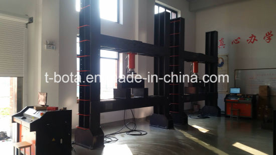500KN 4.2m Compression Testing Machine for Bridge Axle Beam pictures & photos