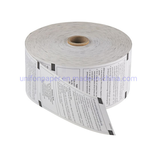 China Manufacturer Jumbo Thermal Rolls Thermic Paper ATM Roll